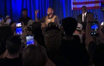 Kanye West gets emotional on pro-life cause at freewheeling South Carolina event: 'No more Plan B. Plan A.'