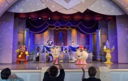 Walt Disney World Silences Beauty, The Beast & Mrs. Potts For Actor-Less Show – Update