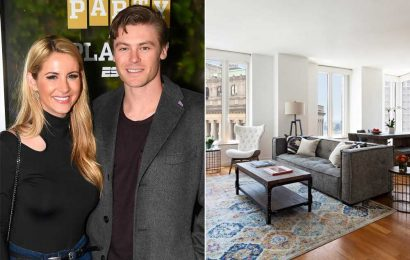 Sports power couple Laura and Josh Rutledge selling NYC condo