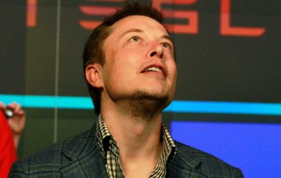 Tesla shares surge day after stock split announced