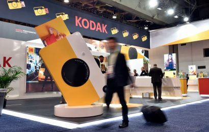 Kodak shares tank more than 40% as government loan is put on pause while allegations investigated