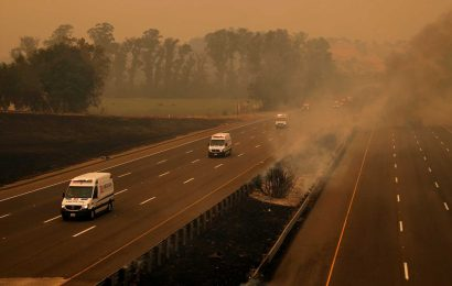 'We're trapped': Californians now face the dual nightmare of wildfires and a pandemic