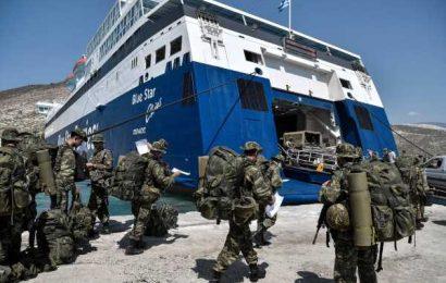 Turkey Wants Greece to Demilitarize Island at Heart of Rift