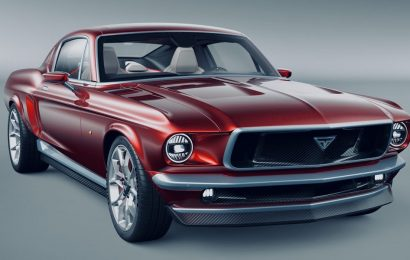 This Russian-made Mustang look-alike is really a Tesla Model S in disguise — take a closer look