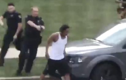 Video shows police in Wisconsin shooting a Black man in the back 7 times as he gets into a car