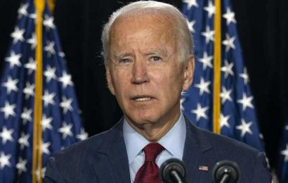 Biden to accept nomination as Trump takes shots from rival's hometown