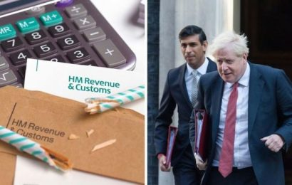 Tax warning: Rishi Sunak must 'not try to tax his way out of the downturn' – taxes to rise