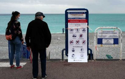 'Pandemic fatigue' leads to resurgence of coronavirus in Europe where cases surge to fresh records in France and Spain