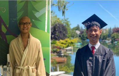 A University of Washington graduate who landed a tech job at Starbucks shares his journey fighting for a computer science degree while battling cancer