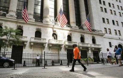 S&P, Nasdaq open at records as Dow climbs further into positive territory for 2020