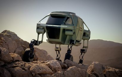 Hyundai developing 'transformer-class' walking car for production