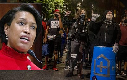 DC Mayor Bowser worries about 'race war' in America