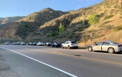 Colorado police stop 10 speeding Porsche drivers
