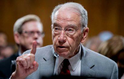 Grassley demands Biden name potential Supreme Court nominees