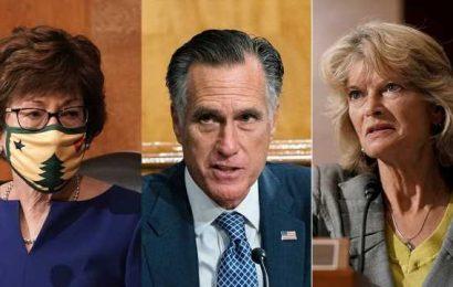 Ginsburg vacancy puts pressure on Trump-critic Republicans in Senate