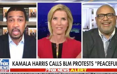 Laura Ingraham Guest: 'Kamala Harris Was Hillary Clinton In Blackface' During Debate