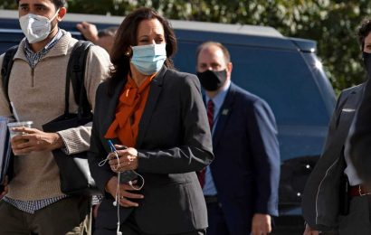Kamala Harris Cancels Travel Plans After Top Aide Tests Positive For COVID-19