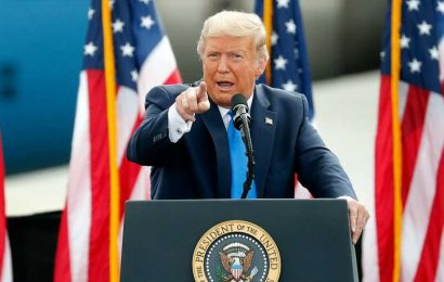 Biden, Trump Duel In Town Halls On Separate Channels