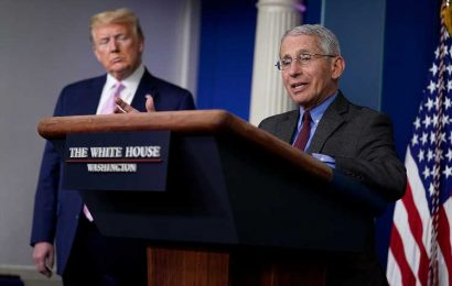 Dr. Fauci Says He Was 'Absolutely Not' Surprised That President Trump Caught COVID-19