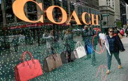 Tapestry shares up after Coach owner's sales fall less than expected, boosted by China, e-commerce