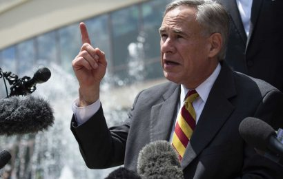Texas governor limits ballot drop-off sites for early votes