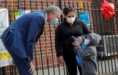 Nine ZIP codes in New York City may shut down after Covid spikes, mayor says