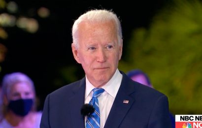 Joe Biden says Trump bears responsibility for Covid-19 infection