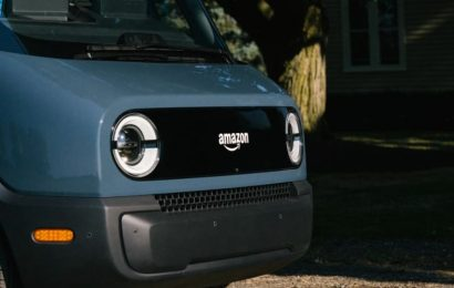 Amazon debuts electric delivery vans created with Rivian