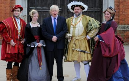 Boris Johnson's split from Brussels echoes Henry VIII's break with Rome