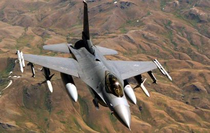 Air Force to pay $25 million to widow of contractor accidentally killed by an F-16 during a training exercise