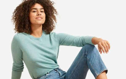 Everlane just discounted its $100 cashmere sweaters to their lowest prices ever