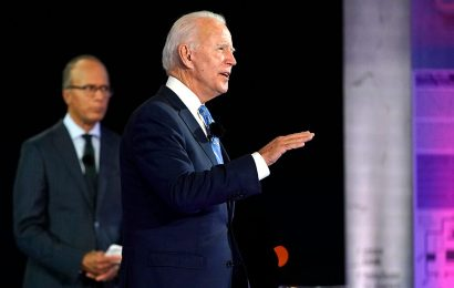 Joe Biden distances himself from 'socialists' during NBC News town hall