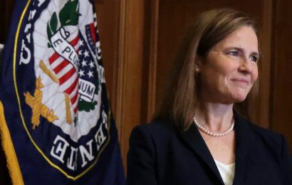 Amy Coney Barrett sworn in as Supreme Court Associate Justice at White House ceremony