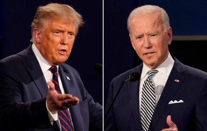 Biden pushes back on Trump's attacks in Pennsylvania: 'I'm not eliminating fracking'
