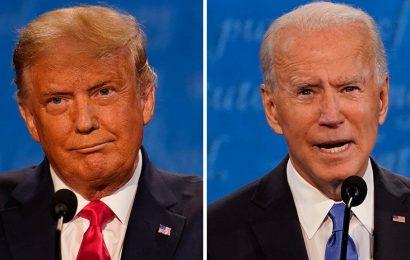 Trump, Biden refrain from interrupting each other