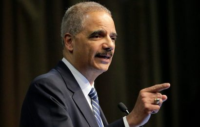 Eric Holder slammed for referring to a Trump lower court judicial nomination as 'court packing'