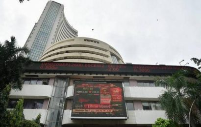 Sensex declines over 250 points in early trade; Nifty tests 11,850