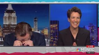 MSNBC's Maddow, Hayes seem to laugh at CNN's Jeffrey Toobin