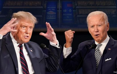 Debate commission says it will mute Trump, Biden while opponent talks