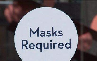 California governor's office tells diners to wear masks 'in between bites'