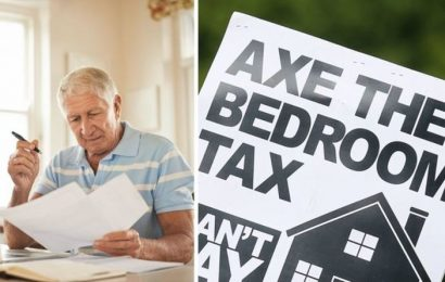 Housing benefit can be received by pensioners but a 'bedroom tax' may lower payments
