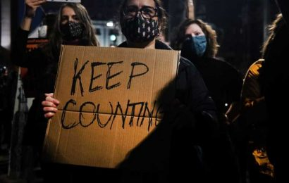 'Count Every Vote' Protesters March In Philadelphia As Trump Falsely Claims Victory