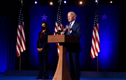 "Joe Biden To Address Nation Tonight As President-Elect; ""We Did It,"" Kamala Harris Declares"