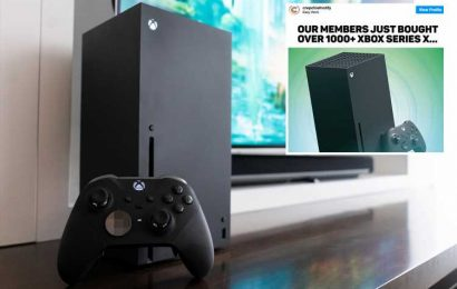 Fury as PS5 scalper group scooped 1,000 new Xbox consoles to sell for THOUSANDS