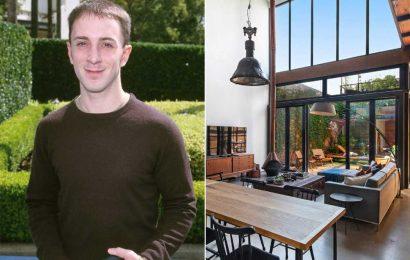 'Blue's Clues' star Steve Burns lists hipster mansion for $3.3M