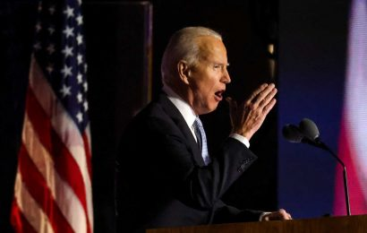 European markets head for higher open in reaction to Biden's presidential win