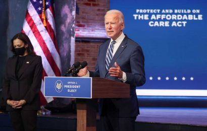 Biden says 'it's an embarrassment' that Trump won't concede with transition under way
