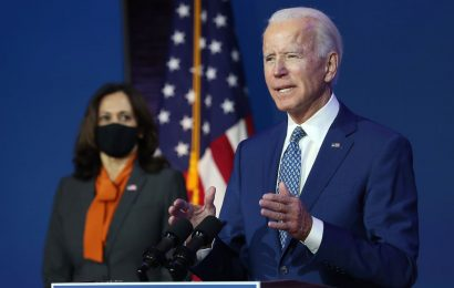 Biden Moves to Claim White House as GOP Backs Trump Legal Fight