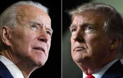 Biden leads in two key states as campaign wraps