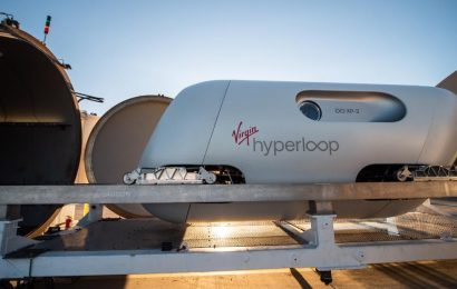 Watch: People travel in Virgin Hyperloop for the first time